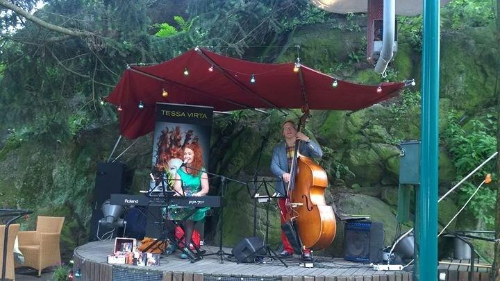 Mari Palo ja Tessa Virta Trio Vuotalo 2018