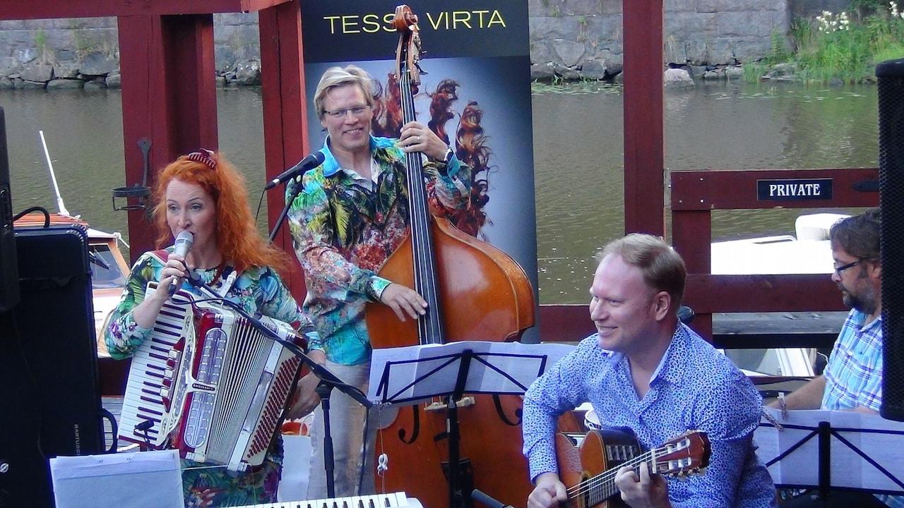 Bändi häihin Tessa Virta Orkesteri