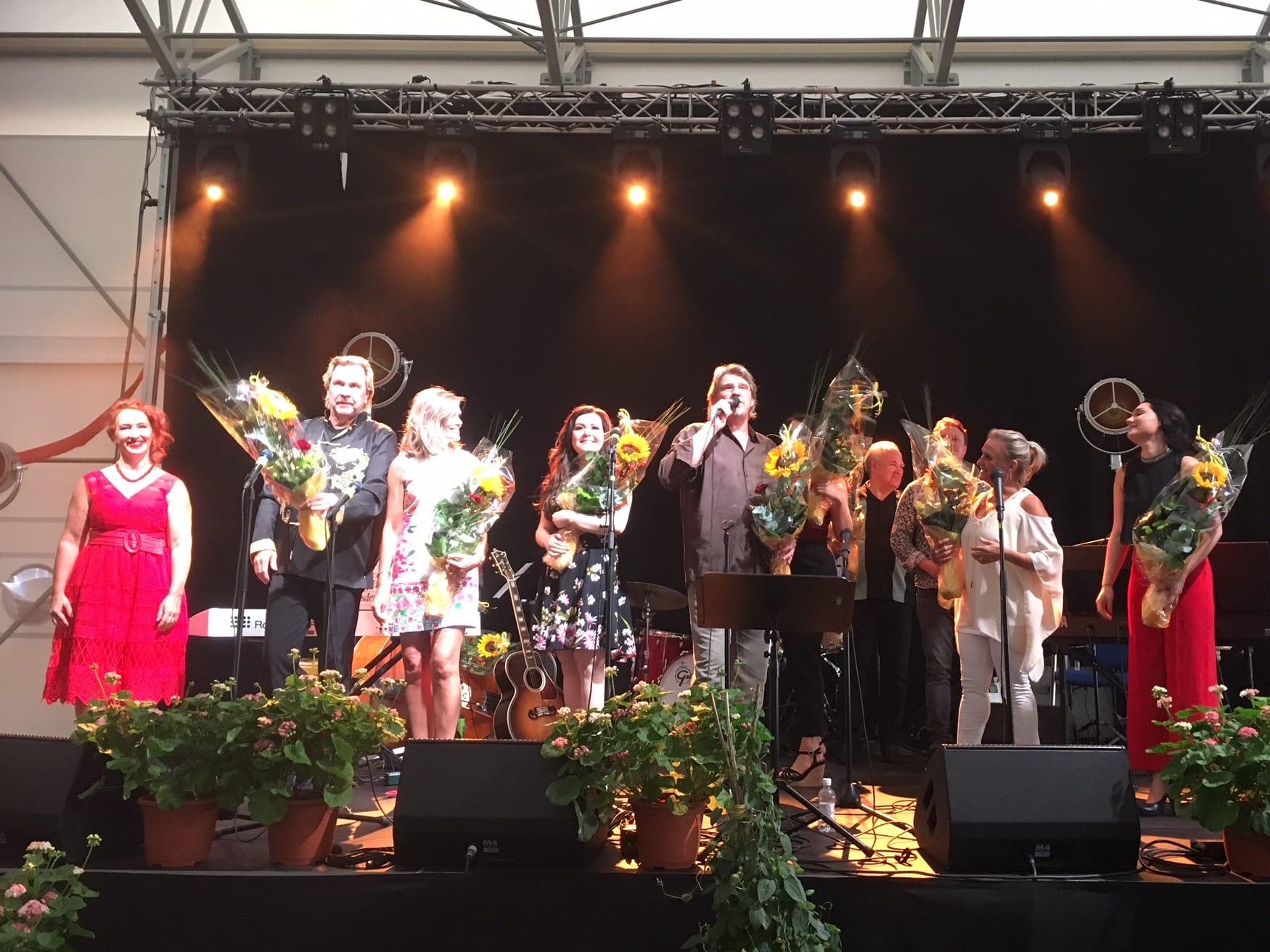 Oripää 2.8.18 konsertti Diandra, Pentti Hietanen ym