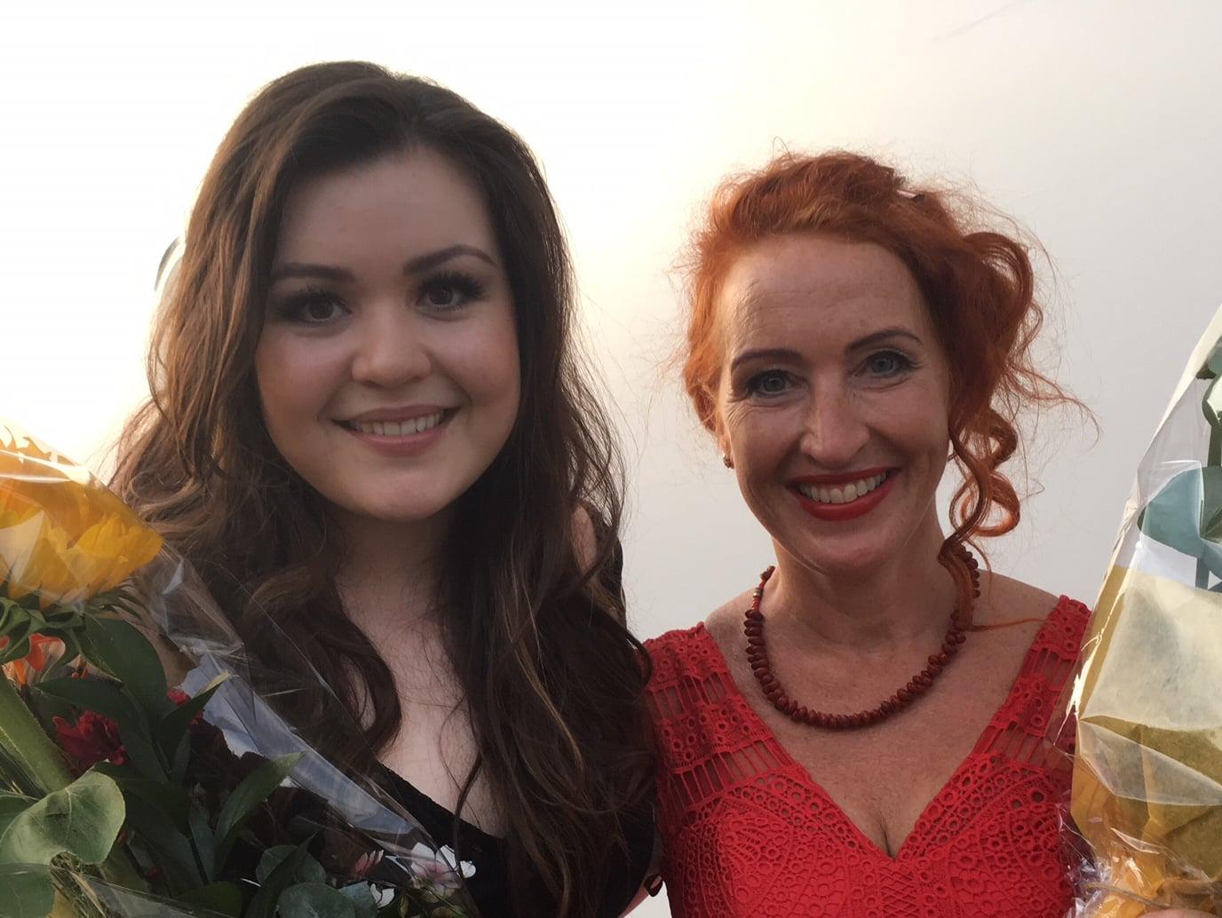 Diandra ja Tessa Virta konsertti 2.8.18