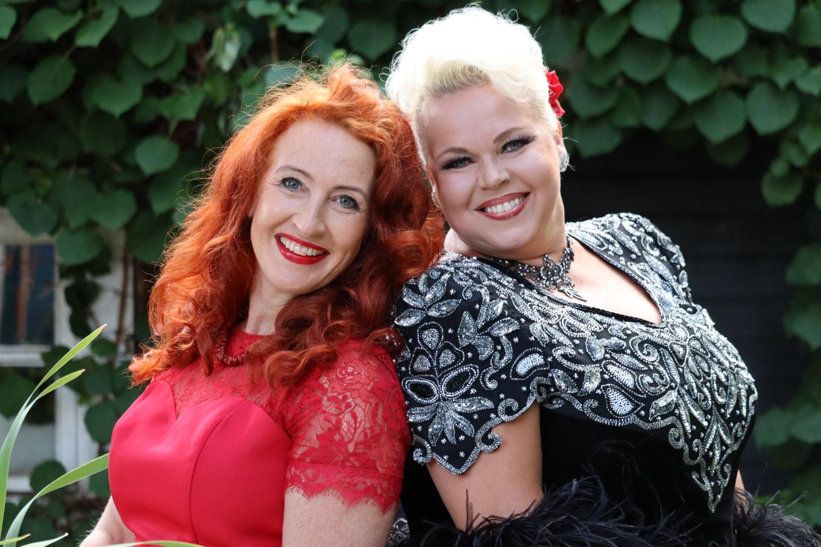 Johanna Rusanen ja Tessa Virta