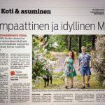 Tessa ja Olli Itäväylässä 26.6