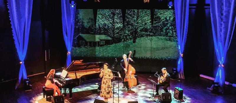 Mari Palo ja Tessa Virta Trio Vuotalo 14.12.18